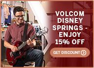 Volcom Disney Springs – Enjoy 15% Off