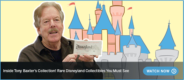 Inside Tony Baxter's Collection! Rare Disneyland Collectibles You Must See WATCH NOW >