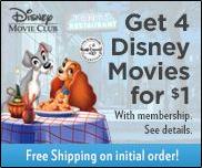 Disney Movie Club: Lady and the Tramp