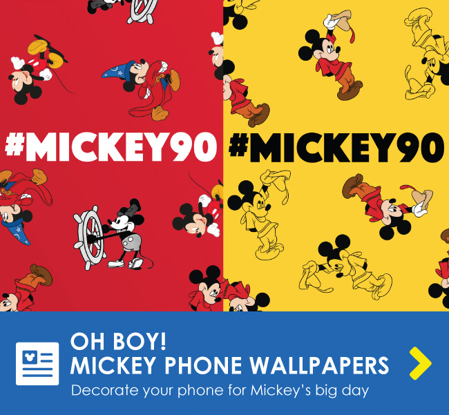 OH BOY! MICKEY PHONE WALLPAPERS - Decorate your phone for Mickey's big day