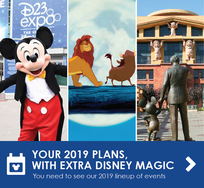 YOUR 2019 PLANS, WITH EXTRA DISNEY MAGIC - You need to see our 2019 lineup of events