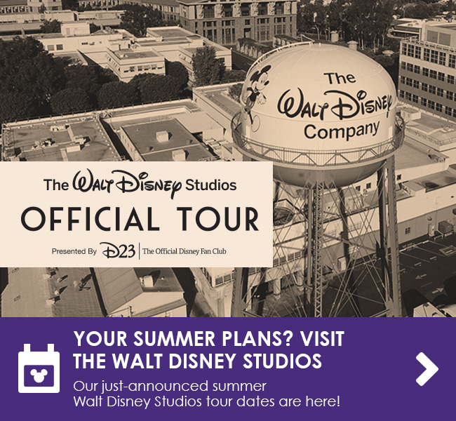YOUR SUMMER PLANS? VISIT THE WALT DISNEY STUDIOS - Our just-announced summer Walt Disney Studios tour dates are here!