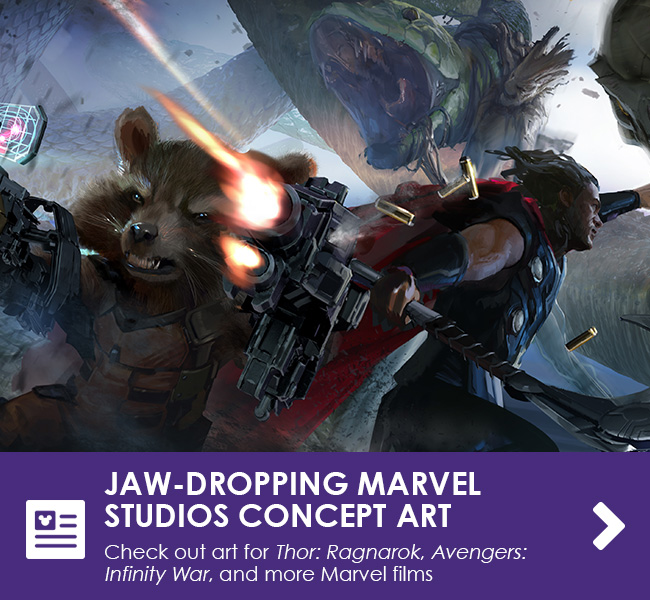JAW-DROPPING MARVEL STUDIOS CONCEPT ART - Check out art for Thor: Ragnarok, Avengers: Infinity War, and more Marvel films