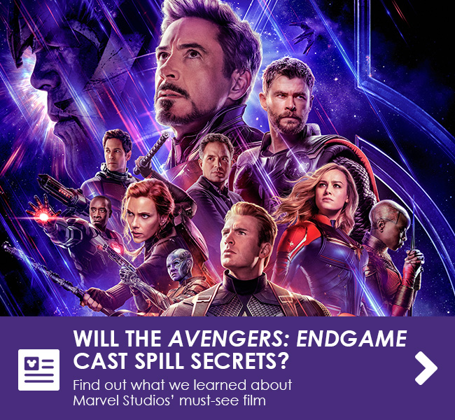 WILL THE AVENGERS: ENDGAME CAST SPILL SECRETS? - Find out what we learned about Marvel Studios' must-see film