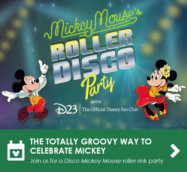 THE TOTALLY GROOVY WAY TO CELEBRATE MICKEY - Join us for a Disco Mickey Mouse roller rink party