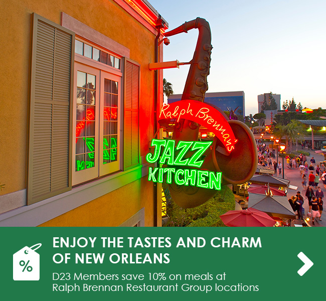 ENJOY THE TASTES AND CHARM OF NEW ORLEANS - D23 Members get 10% off on meals at Ralph Brennan Restaurant Group locations