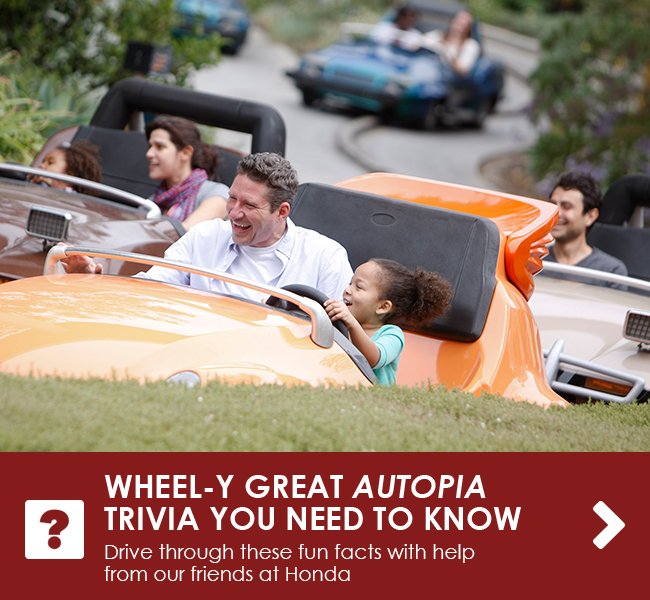 WHEEL-Y GREAT AUTOPIA TRIVIA YOU NEED TO KNOW - Drive through these fun facts with help from our friends at Honda