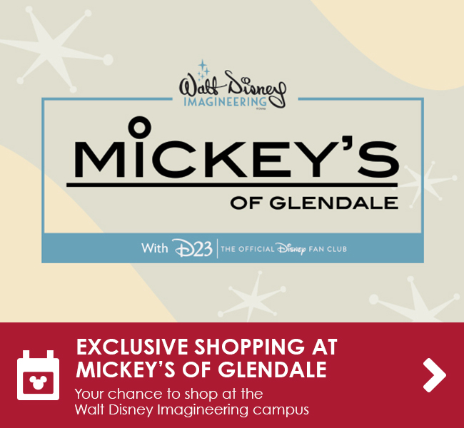 EXCLUSIVE SHOPPING AT MICKEY'S OF GLENDALE