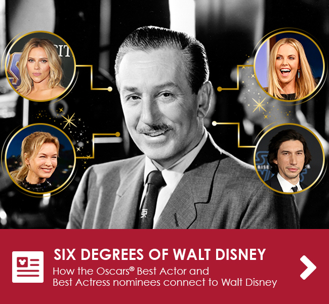 SIX DEGREES OF WALT DISNEY