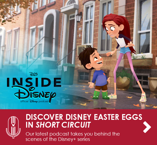 DISCOVER DISNEY EASTER EGGS IN SHORT CIRCUIT