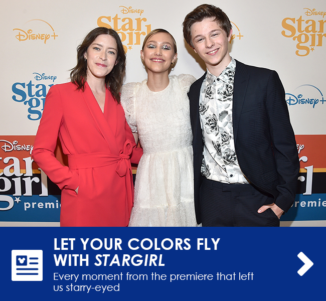 LET YOUR COLORS FLY WITH STARGIRL