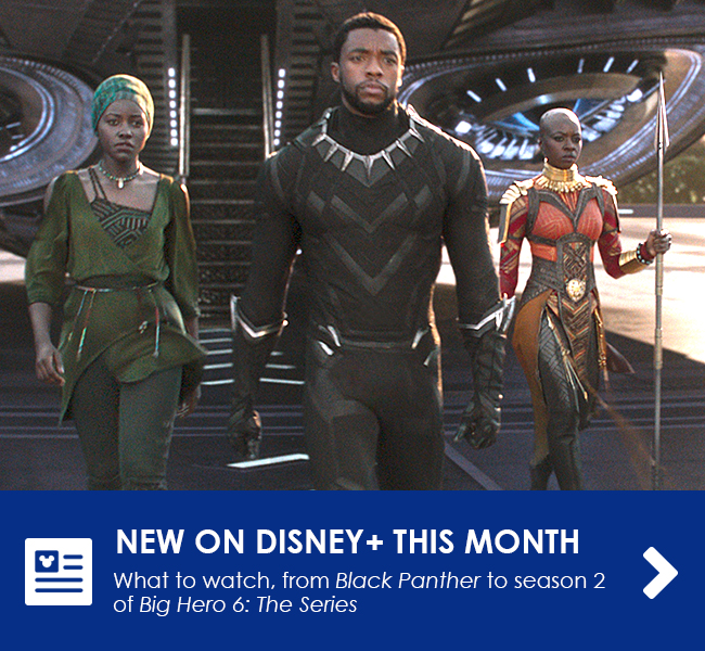 NEW ON DISNEY+ THIS MONTH
