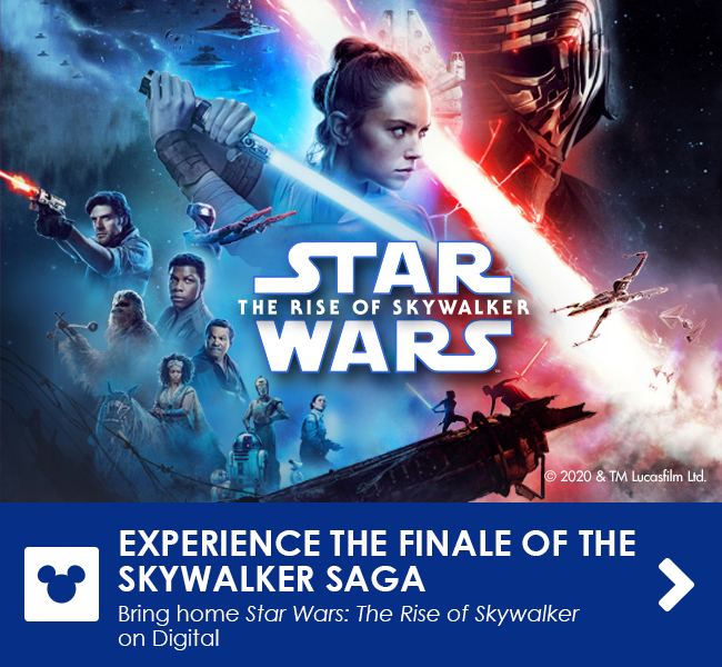 EXPERIENCE THE FINALE OF THE SKYWALKER SAGA