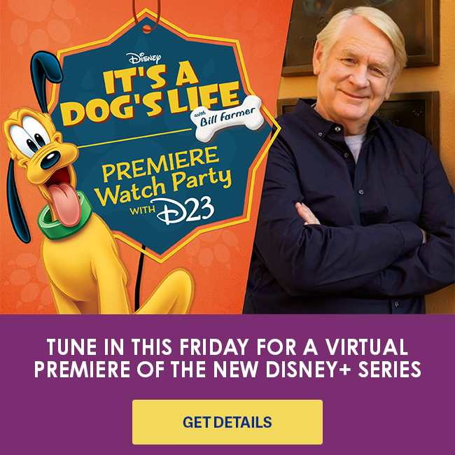 TUNE IN THIS FRIDAY FOR A VIRTUAL PREMIERE OF THE NEW DISNEY+ SERIES - GET DETAILS