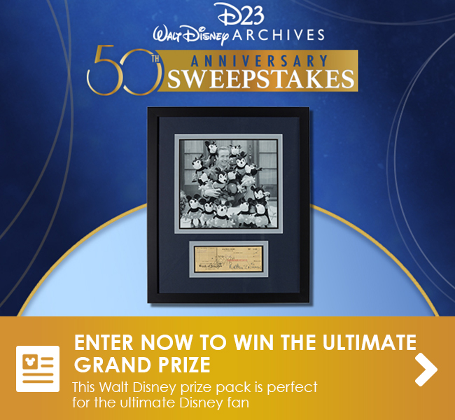ENTER NOW TO WIN THE ULTIMATE GRAND PRIZE - This Walt Disney prize pack is perfect for the ultimate Disney fan