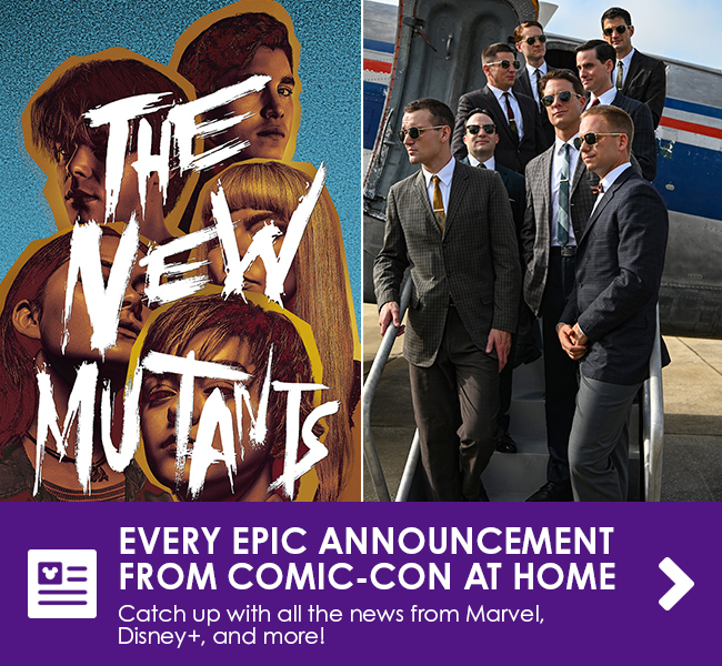 EVERY EPIC ANNOUNCEMENT FROM COMIC-CON AT HOME - Catch up with all the news from Marvel, Disney+, and more!