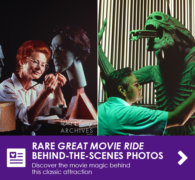 RARE GREAT MOVIE RIDE BEHIND-THE-SCENES PHOTOS - Discover the movie magic behind this classic attraction
