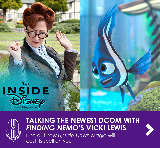 TALKING THE NEWEST DCOM WITH FINDING NEMO'S VICKI LEWIS - Find out how Upside-Down Magic will cast its spell on you