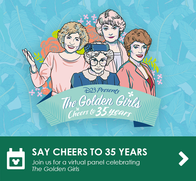 SAY CHEERS TO 35 YEARS - Join us for a virtual panel celebrating The Golden Girls