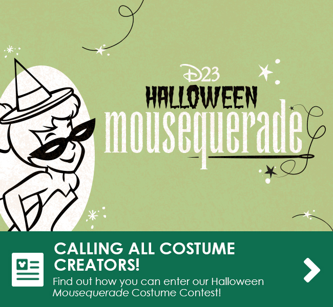 CALLING ALL COSTUME CREATORS! - Find out how you can enter our Halloween Mousequerade Costume Contest!