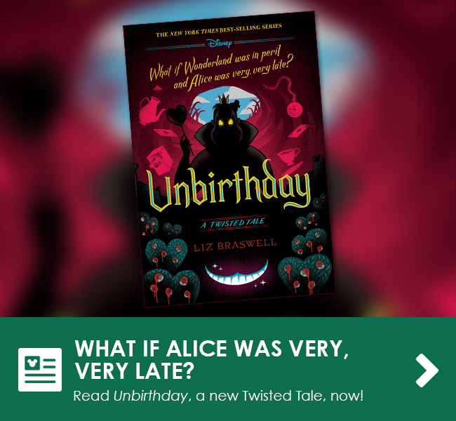 WHAT IF ALICE WAS VERY, VERY LATE? - Read Unbirthday, a new Twisted Tale, now!