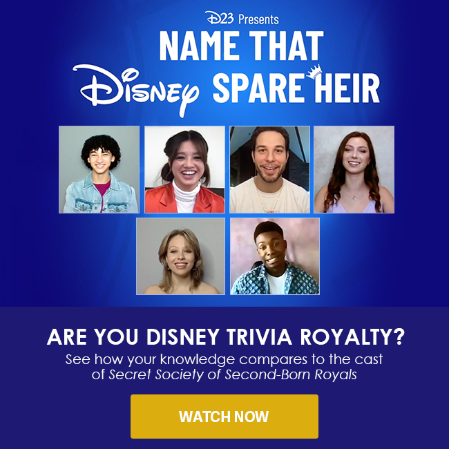 ARE YOU DISNEY TRIVIA ROYALTY? - See how your knowledge compares to the cast of The Secret Society of Second-Born Royals - WATCH NOW