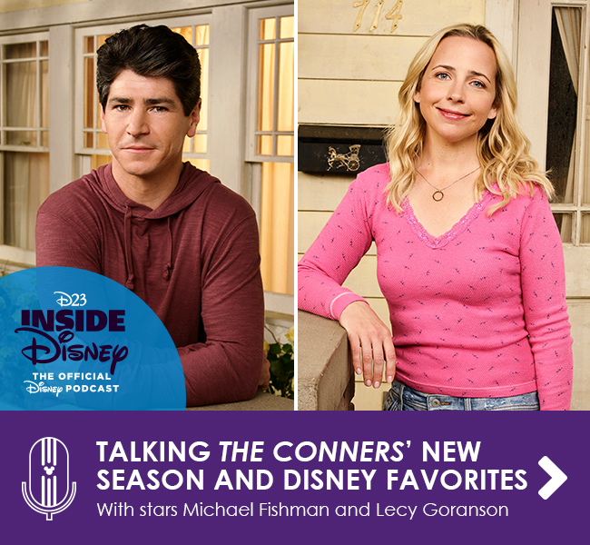 TALKING THE CONNERS' NEW SEASON AND DISNEY FAVORITES - With stars Michael Fishman and Lecy Goranson
