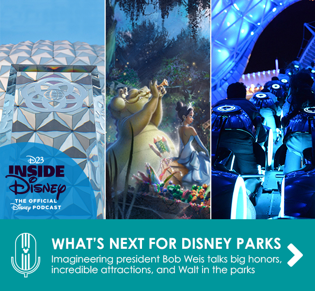 WALT DISNEY IMAGINEERING PRESIDENT BOB WEIS TALKS RECEIVING A MAJOR HONOR - Plus, exciting upcoming additions to Disney Parks