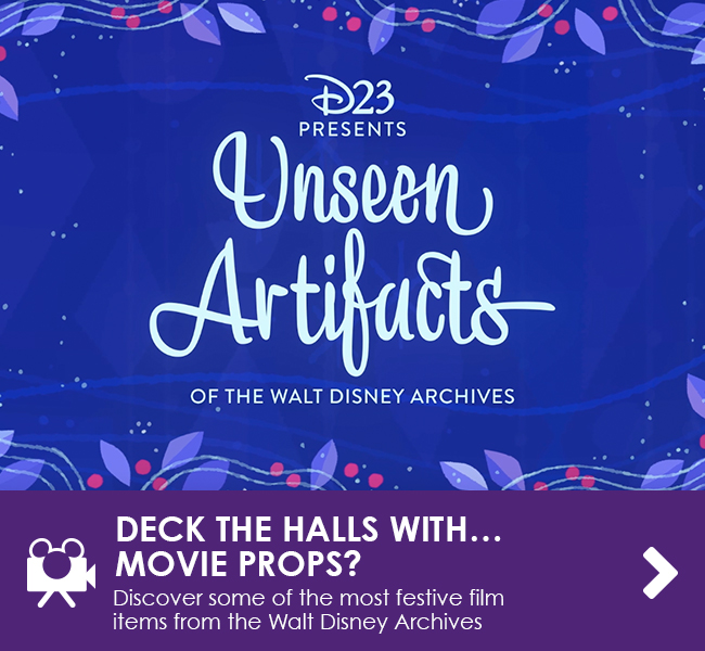 DECK THE HALLS WITH… MOVIE PROPS? - Discover some of the most festive items in the Walt Disney Archives