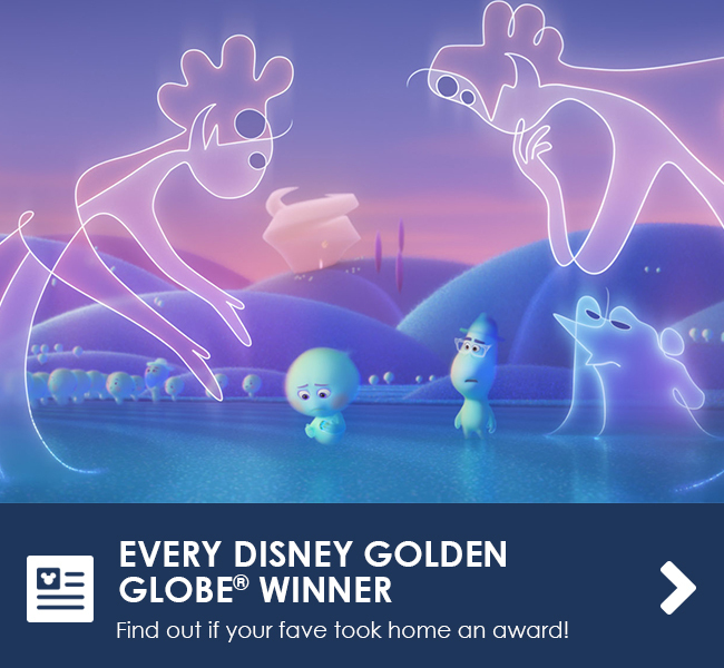 EVERY DISNEY GOLDEN GLOBE WINNER - Find out if your fave took home an award!