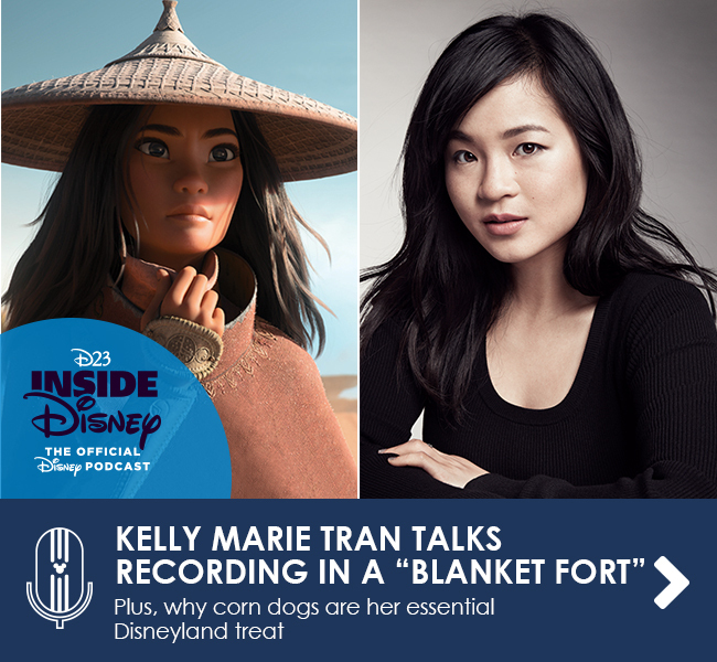 """KELLY MARIE TRAN TALKS RECORDING IN A """"BLANKET FORT"""" - Plus, why corn dogs are her essential Disneyland treat"""