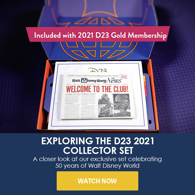 EXPLORING THE D23 2021 COLLECTOR SET - A closer look at our exclusive set celebrating 50 years of Walt Disney World - WATCH NOW