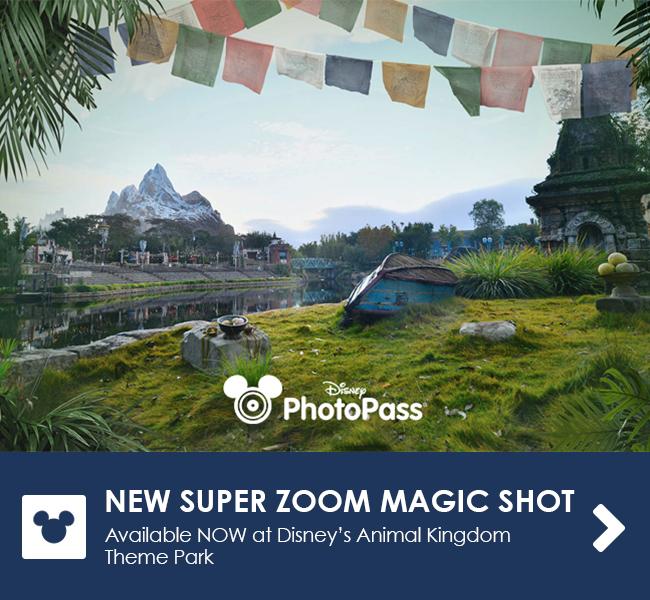 New Super Zoom Magic Shot - Available NOW at Disney's Animal Kingdom Theme Park