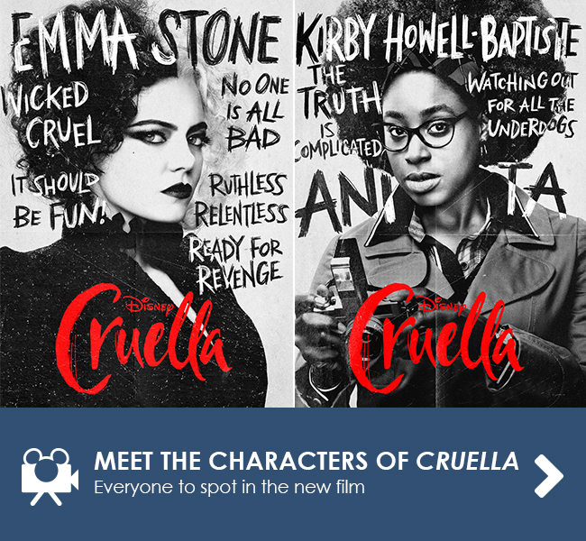 MEET THE CHARACTERS OF CRUELLA - Everyone to spot in the new film