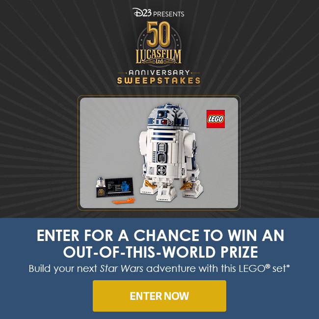 ENTER FOR A CHANCE TO WIN AN OUT-OF-THIS-WORLD PRIZE - Build your next Star Wars adventure with this LEGO set** - ENTER NOW