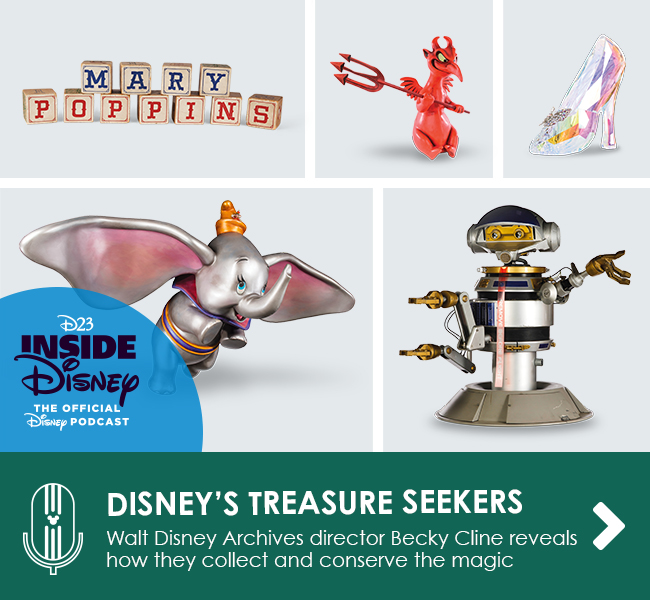 DISNEY'S TREASURE SEEKERS - Walt Disney Archives director Becky Cline reveals how they collect and conserve the magic
