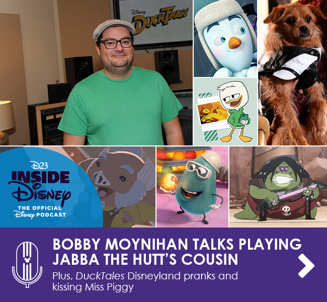 BOBBY MOYNIHAN TALKS PLAYING JABBA THE HUT'S COUSIN - Plus, Ducktales Disneyland pranks and kissing Miss Piggy