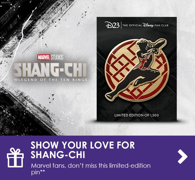 SHOW YOUR LOVE FOR SHANG-CHI - Marvel fans, don't miss this limited-edition pin**